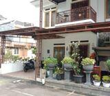 Rumah Dijual Di Serpong, Cantik 2Lt, Furnished, Hoek, 2Kav jd 1, Lingk. Nyaman dlm Perum Mulia, Ciat