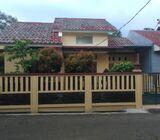 Rumah Di Jatisampurna, 1Lt, Semi Furn, Unit Pojok dlm Cluster di Jatirangon