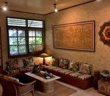 Rumah Di Cinere, 1Lt. dgn Paviliun, Hal. Luas, Semi Furnished, Pinggir Jl. Andara Raya, Akses TOL An