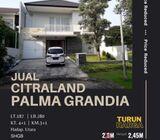 Rumah Citraland Palma Grandia, Surabaya  |  Low Budget Property.