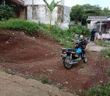Tanah hook 200 m2 Kalimulya Depok