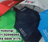 Payung Promosi Sablon Logo - Payung Souvenir Tangerang