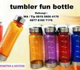 Jual tumbler fun bottle | botol tempat minum fun bottle