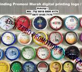 Jam Dinding Promosi Murah digital printing logo / foto