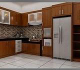 Kitchen set hpl minimalis dan service