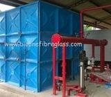 Panel Tank / Tangki KNOCK DOWN / Tandon Kotak / Roof Tank Fiberlass BioOne