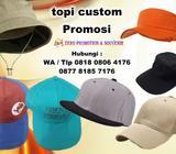 Produksi / buat Topi Perusahaan kantor - Konveksi Topi