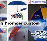 Melayani pembuatan payung promosi dan souvenir