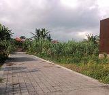 Dijual Tanah Di Tukad Badung Renon 2 Are Kawasan Pusat Kota Denpasar